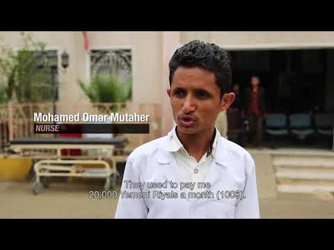 Yemen: Would you continue working without being paid for over a year?