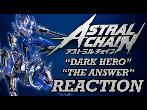 "Reaction To ""Dark Hero"" & ""The Answer"" - Astral Chain OST"