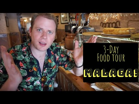 3-Day Malaga Food Binge! || Where to eat in the Costa del Sol Capital!