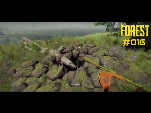 Let's Play The Forest | Vorgeplänkel für die Große Höhle | Folge #016