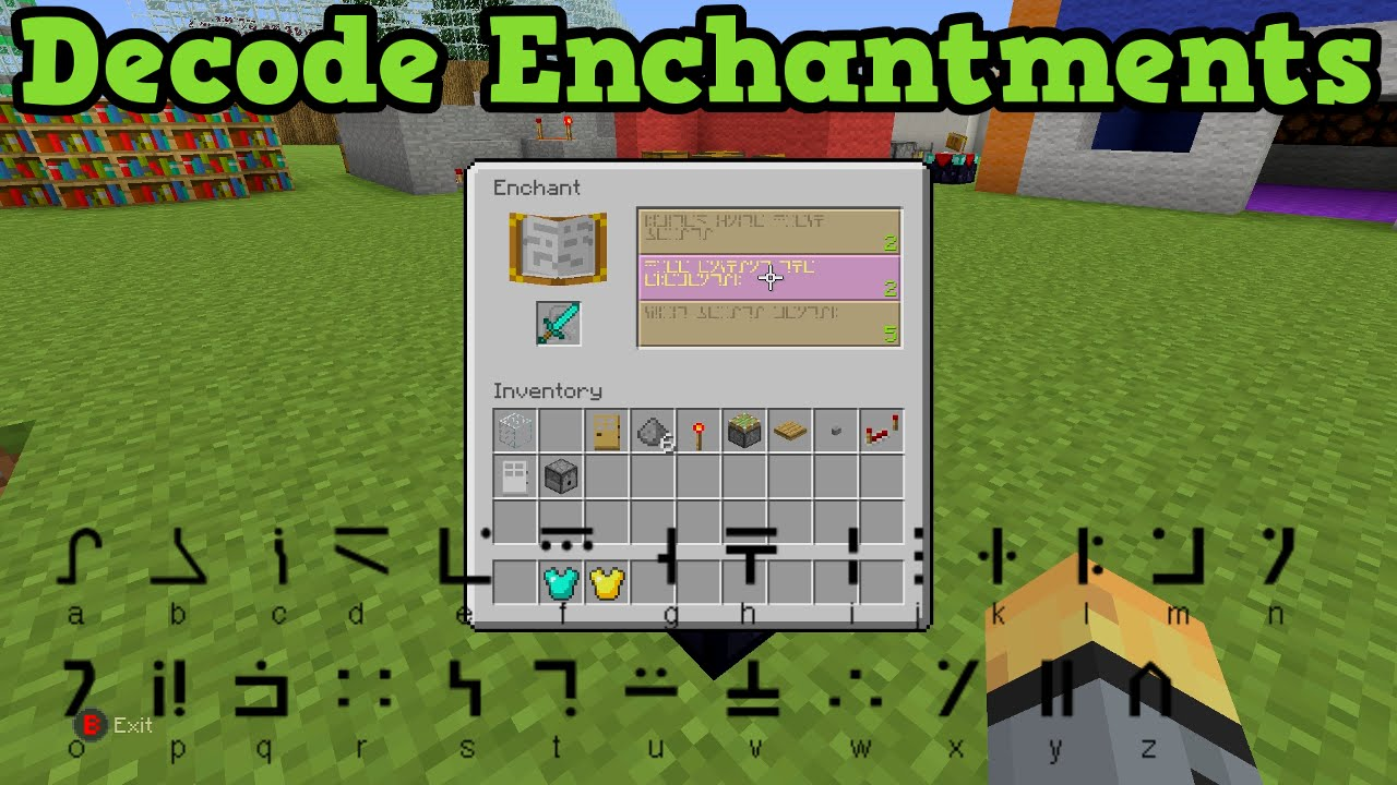 Minecraft Enchantment List (Java Edition)