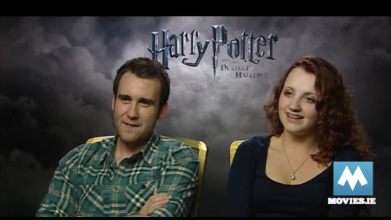 Luna Lovegood & Neville Longbottom talk ending HARRY ...