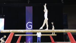 Arina Strukova, Russia - Beam - 2017 International Gymnix Training
