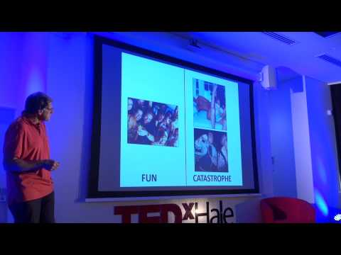 Managing today's 'thin red line' between fun and catastrophe: Bruce Robinson at TEDxYouth@Hale