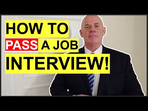 HOW TO PASS A JOB INTERVIEW! (7 Job Interview TIPS to Help You SUCCEED!)