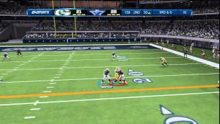 Madden COWBOYS vs PACKERS-Madden 13 ONLINE GAMEPLAY-JUST ONE MORE MISTAKE!