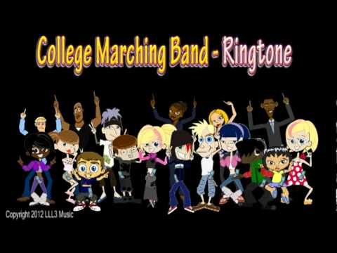 College Marching Band - Ringtone! CrazyFunRingtones.Com