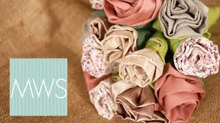 Fabric Flower Bouquet: Maid At Home S02E4/8