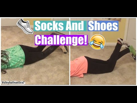 Socks And Shoes Challenge!