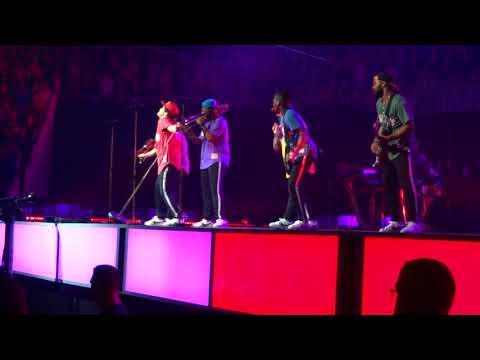 Bruno Mars-Uptown Funk Centre Vidéotron Qc 24/08/2017