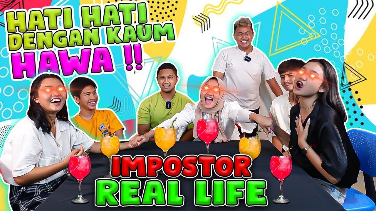 KENA TIPU SEMUA !! CHALLENGE IMPOSTOR DRINK INDONESIA !!