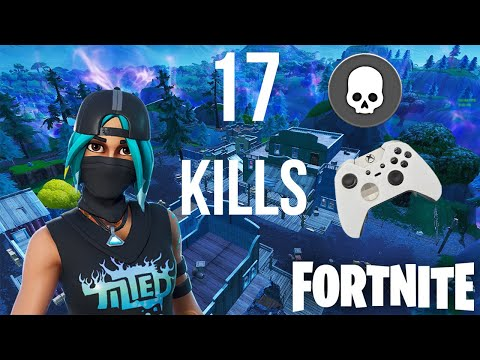 17 Kill Solo Win Fortnite Battle Royale (Xbox One X)
