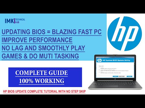 HP Bios Driver Download & Complete Installation Process 2020