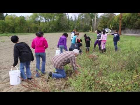Gleaning for Food Day 2013 in Lowell, Massachusetts
