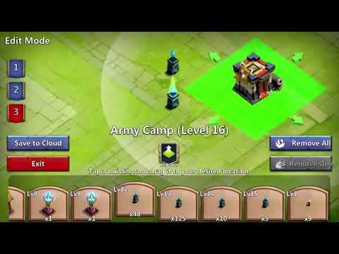 Castle Clash - Th 19 GW Base