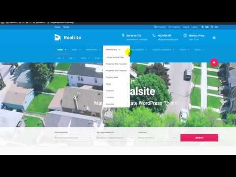 RIAL Realsite — Тема WordPress Недвижимости