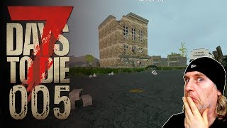 🔨 7 Days to Die [005] [Eine erste Basis] Let's Play Gameplay Deutsch German thumbnail