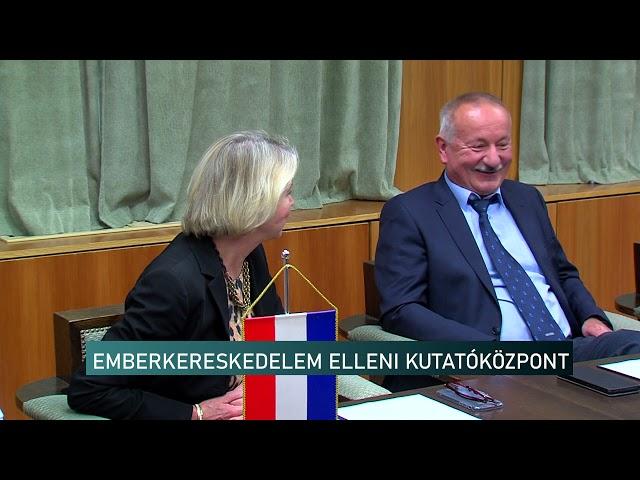 EMBERKERESKEDELEM ELLENI KUTATÓKÖZPONT