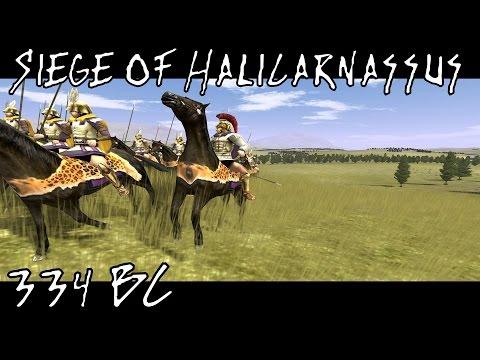 Rome Total War : Alexander : Siege of Halicarnassus 334 BC
