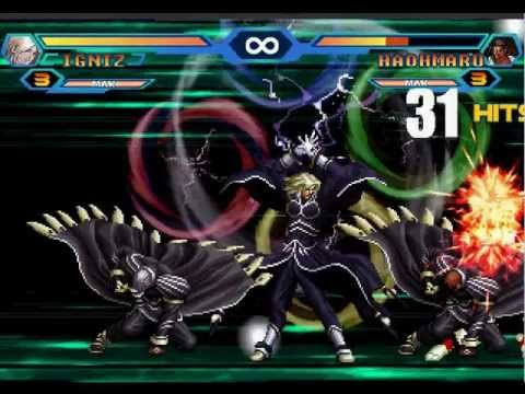 king of fighters wing 18 combos youtube