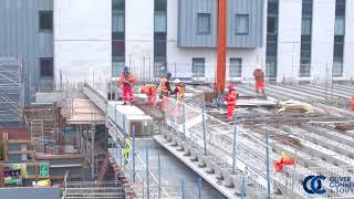 Completed Precast Decking Twickenham Station April 18
