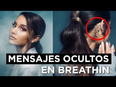HIDDEN MESSAGES in the musical video BREATHIN by ARIANA GRANDE | Only Osnapitzari