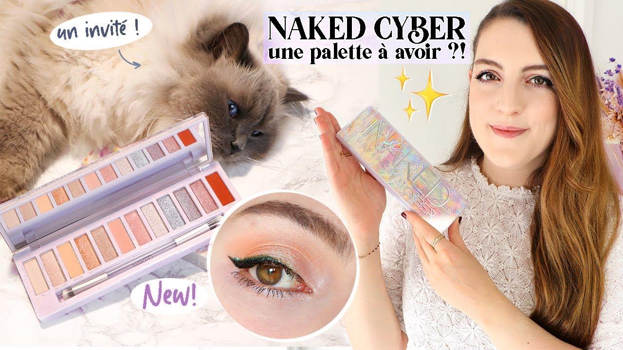 Download La NOUVELLE Naked CYBER d'Urban Decay : faut-il craquer ou l'éviter ?! 🚀🤔 + SWATCH | LOdoesmakeup