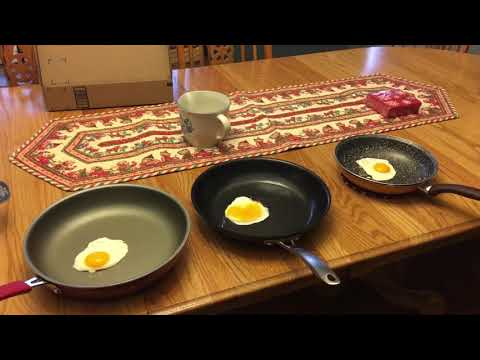 Skillet fry-off! Red Copper Pan vs Pioneer Woman vs Cuisinart vs Hard by Bergner