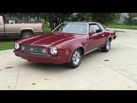 1973 Chevy Chevelle Laguna Colonnade 2-door coupe