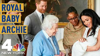 Royal Baby Fever: Meghan Markle, Prince Harry Introduce Archie Harrison To The World | Nbc New York