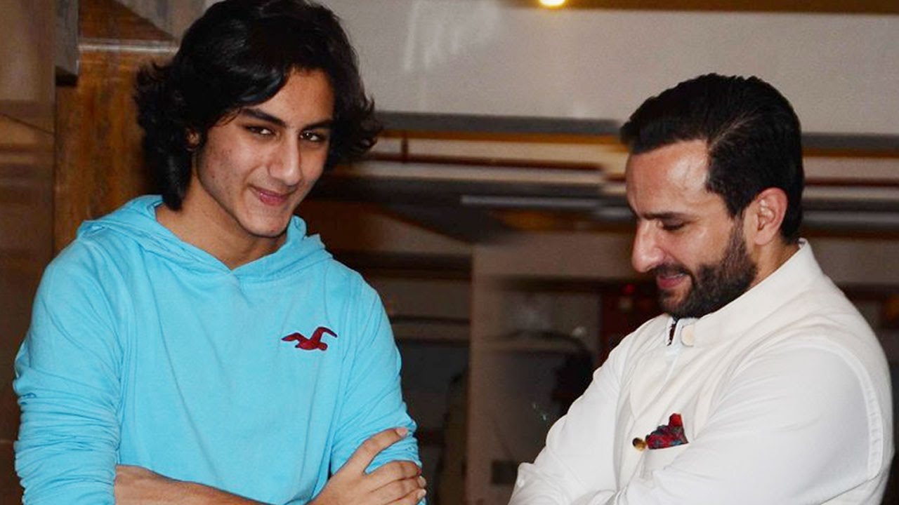 Image result for Saif Ali Khan and Ibrahim Khan