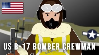 U.S. B-17 Bomber Crewman (World War II)