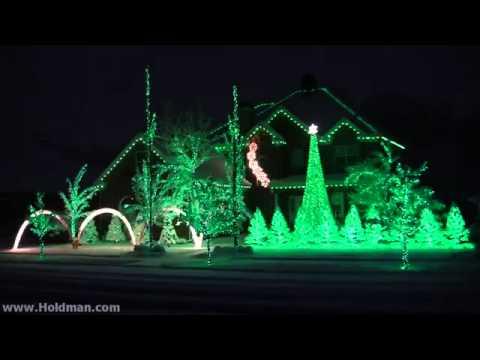 - Holdman Christmas Lights 2010 Complete Show - YouTube
