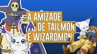A amizade de Tailmon e Wizardmon