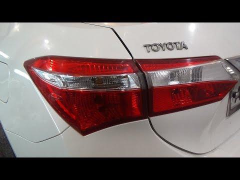 Как поменять все лампы и снять-установить задние фонари,  Toyota Corolla XI (E180).