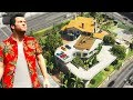 GTA 5 - Michael UPGRADES his HOUSE!! (Billionaire Mod)