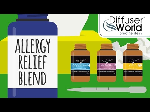 Essential Oil Blends — Allergy Relief