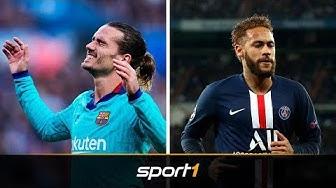 Spektakulärer Transfer? Neymar für Griezmann | SPORT1 - TRANSFERMARKT