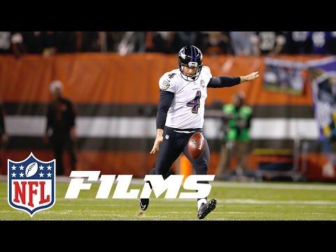 Boomerangs, Knuckleballs, Hooks: How Sam Koch & The Ravens Changed Punting | NFL Films Presents