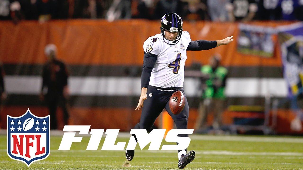 Boomerangs, Knuckleballs, Hooks: How Sam Koch & the Ravens Changed Punting   NFL Films Presents