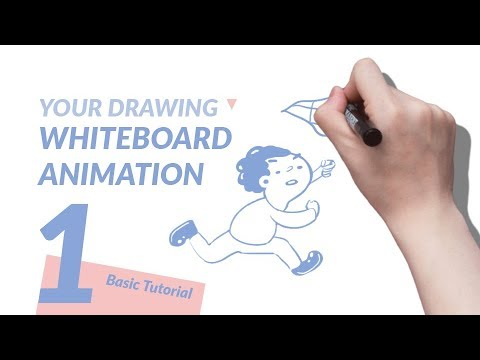 Turn your drawing into whiteboard animation with Auto Whiteboard | Tutorial 1 | Step by Step
