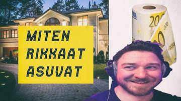 Suomen kalleimmat asunnot - Miten miljonäärit asuvat (reupload)