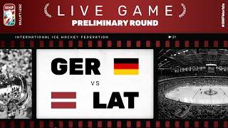 Germany - Latvia | Live | Group B | 2021 IIHF Ice Hockey World Championship