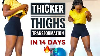 GET THICKER THIGHS/BOOTY/LEG WORĶOUT IN 14 DAYS No Equipment(10 Min)
