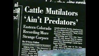 Série OVNI : Secrets * Réalités , Ep 06 : Mutilations animales