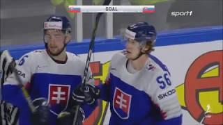 Eishockey WM 2018 - Slowakei vs. Frankreich 3:1 / Highlights Sport1