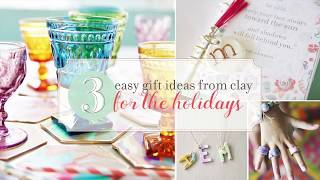 Diy Clay Gifts