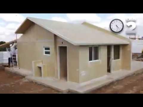 Empresa garante construção de casa em dois dias. Vídeo: Fabrilar