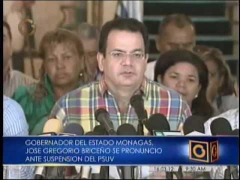 Gobernador de Monagas Briceño