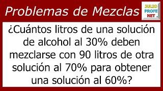 Problema 2 de MEZCLA